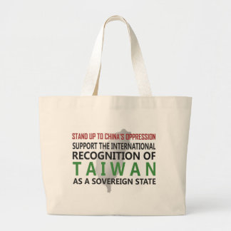 Stand Up To China Canvas Bag