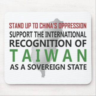 Stand Up To China Mouse Pad