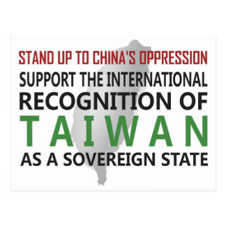 Stand Up To China Post Cards
