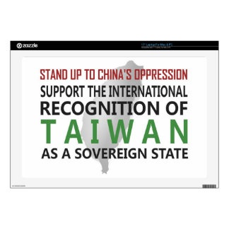 Stand Up To China Laptop Decal
