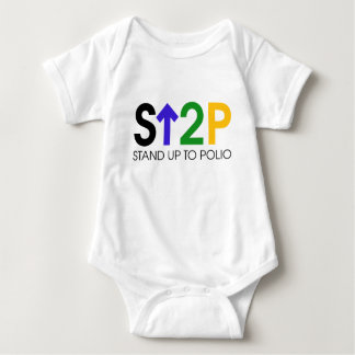 Stand Up To Polio Baby Bodysuit