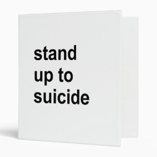 stand up to suicide binder