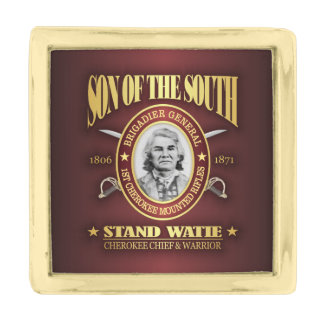 Stand Watie (SOTS2) Gold Finish Lapel Pin