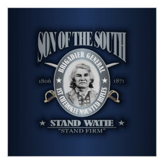 Stand Watie (SOTS2) silver Posters