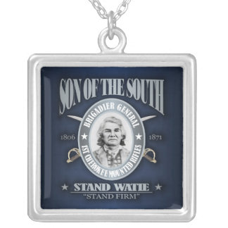 Stand Watie (SOTS2) silver Silver Plated Necklace