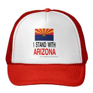 STAND WITH ARIZONA HATS
