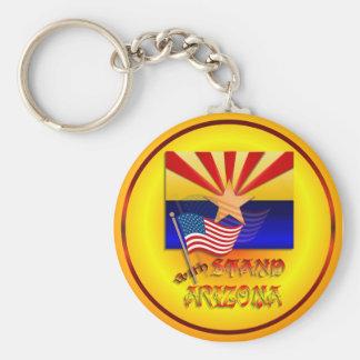 Stand With Arizona Keychain