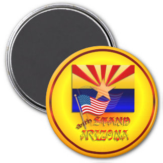 Stand With Arizona Magnet