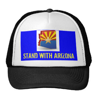 STAND WITH AZ MESH HATS