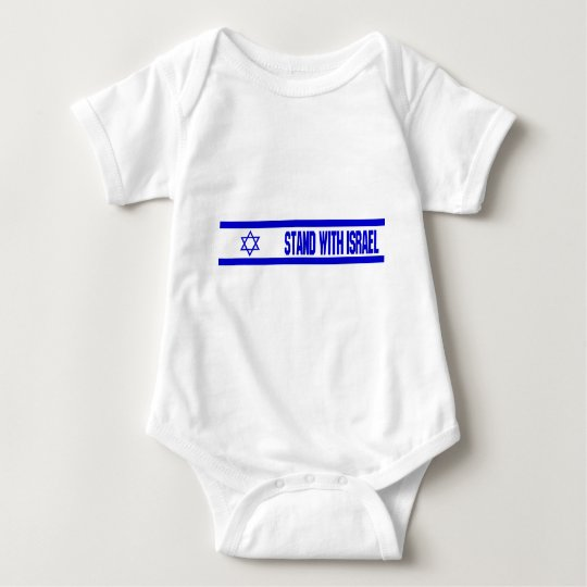 Stand With Israel Baby Bodysuit