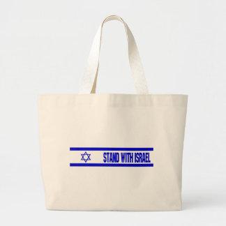Stand With Israel Jumbo Tote Bag