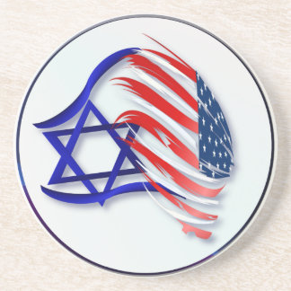 Stand With Israel Coasters