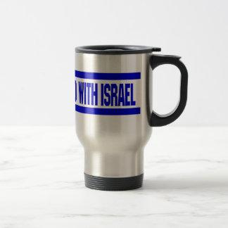 Stand With Israel Travel Mug