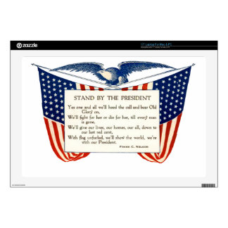 """STAND WITH OUR PRESIDENT 17"""" LAPTOP SKIN"""