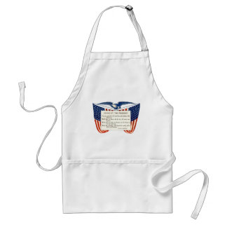 STAND WITH OUR PRESIDENT ADULT APRON