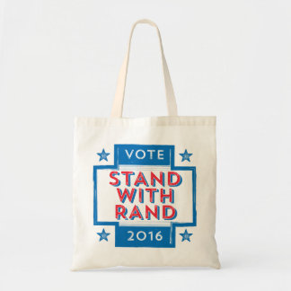 Stand with Rand 2016 Budget Tote Bag