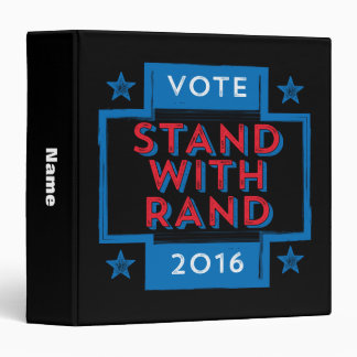 Stand with Rand 2016 Binder