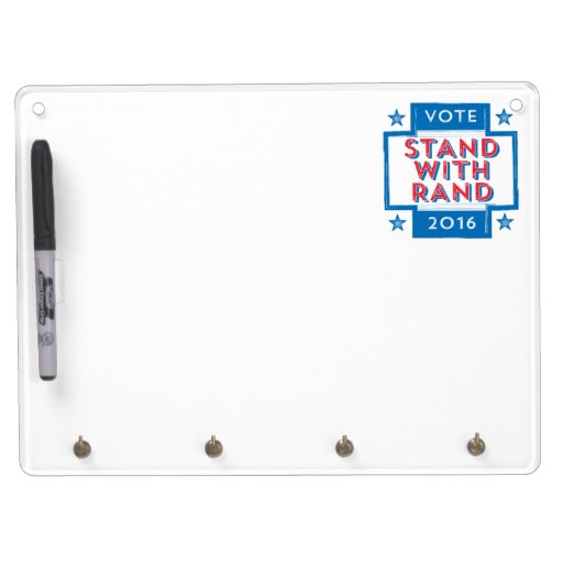 stand with rand 2016 dry erase board zazzle. Black Bedroom Furniture Sets. Home Design Ideas
