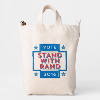 Stand with Rand 2016 Duck Canvas Bag