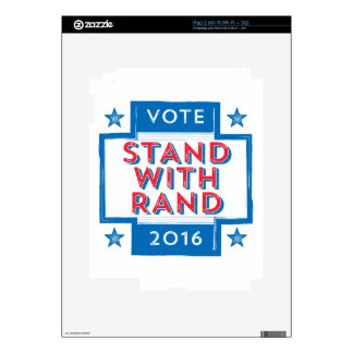 Stand with Rand 2016 iPad 2 Decals