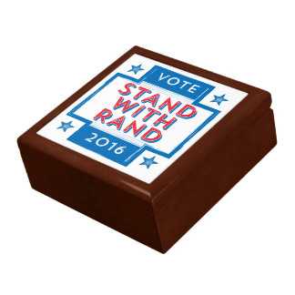Stand with Rand 2016 Jewelry Box