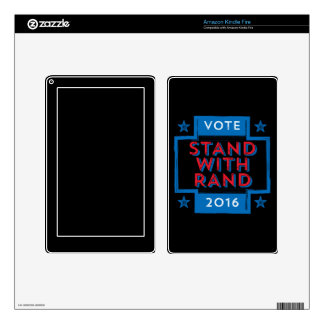 Stand with Rand 2016 Kindle Fire Skin