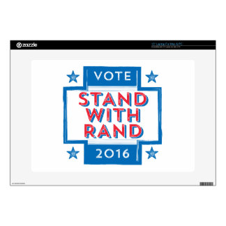 Stand with Rand 2016 Laptop Skins