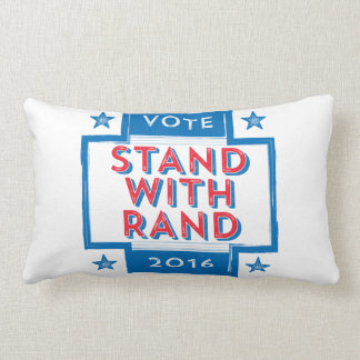 Stand with Rand 2016 Lumbar Pillow