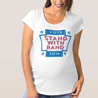 Stand with Rand 2016 Maternity T-Shirt