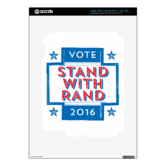 Stand with Rand 2016 Skins For iPad 3