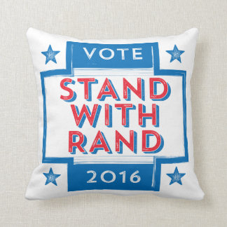 Stand with Rand 2016 Throw Pillow