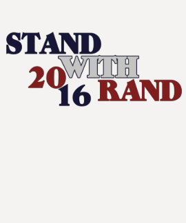 Stand with Rand 2016 T Shirts