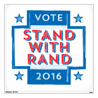 Stand with Rand 2016 Wall Decal
