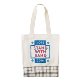 Stand with Rand 2016 Zazzle HEART Tote Bag