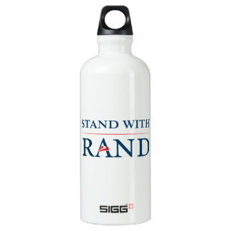 Stand With Rand Aluminum Water Bottle