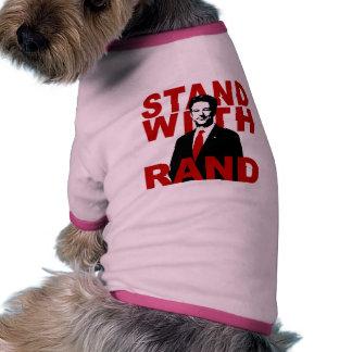 Stand With Rand Dog Tee