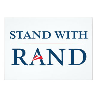 Stand With Rand Custom Announcement