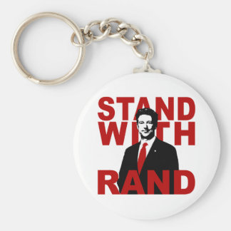 Stand With Rand Key Chain