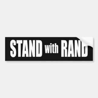Stand with Rand Paul Bumper Stickers