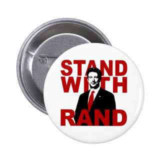 Stand With Rand Pinback Button