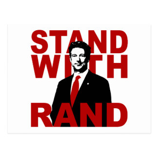 Stand With Rand Postcard