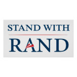 Stand With Rand Poster