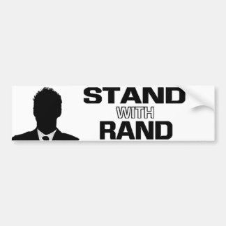"""Stand with Rand"" - Rand Paul 2016 Bumper Sticker Car Bumper Sticker"