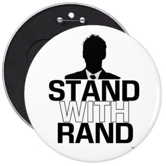 """""""Stand with Rand"""" - Rand Paul 2016 Button"""