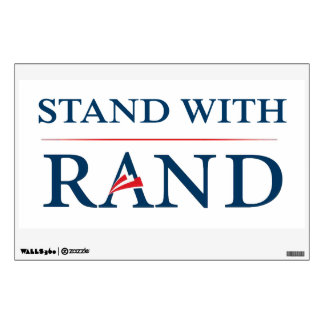 Stand With Rand Wall Sticker