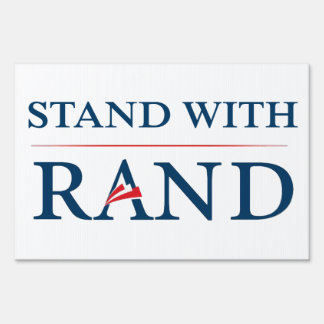 Stand With Rand Sign