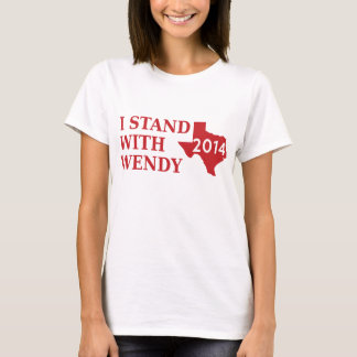 Stand with Wendy Davis T-Shirt