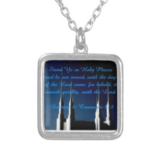 Stand Ye in Holy Places Pendants