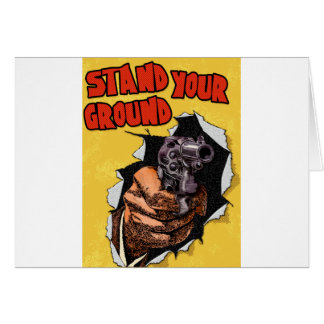 Stand Your Ground Card