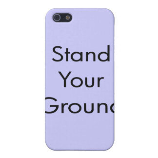 Stand Your Ground Cover For iPhone SE/5/5s